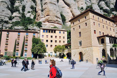 Montserrat Monastery, Spain Stock Photos