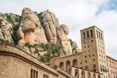 Montserrat Monastery. Spain Royalty Free Stock Photos