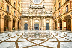 Montserrat Monastery, Spain Stock Photo