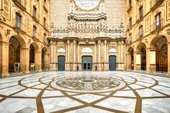 Montserrat Monastery, Spain Stock Photo
