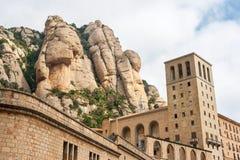 Montserrat Monastery. Spanien Lizenzfreie Stockfotos