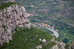 Montserrat Monastery Royalty Free Stock Images
