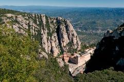 Montserrat Monastery view, Spain Royalty Free Stock Photo