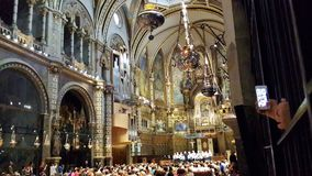 Montserrat monastry, Catalogne Photos libres de droits