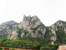 Montserrat mountain Royalty Free Stock Photos