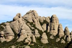Free Montserrat Mountain Royalty Free Stock Image - 627886