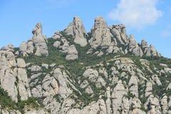 Montserrat mountain, Barcelona, Catalonia, Spain Royalty Free Stock Photography