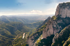 Montserrat mountain, Catalonia, Spain Stock Photos