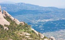 Montserrat Mountain. Catalonia. Spain Royalty Free Stock Images
