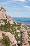 Montserrat Mountain. Catalonia. Spain Stock Photos
