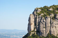 Montserrat mountain Stock Photography