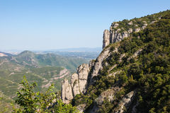 Montserrat mountain in Catalonia Royalty Free Stock Image
