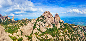 Montserrat mountain Royalty Free Stock Images