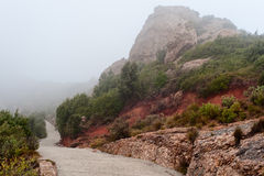 Montserrat mountain landscape Stock Photography