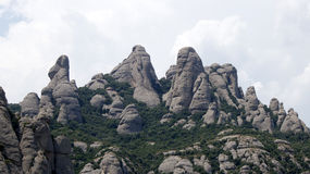 Montserrat mountain main view Stock Images