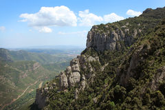 Montserrat mountain Royalty Free Stock Photography