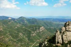 Montserrat mountain Royalty Free Stock Photos