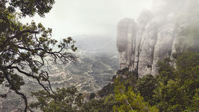 Montserrat Mountain. Royalty Free Stock Images