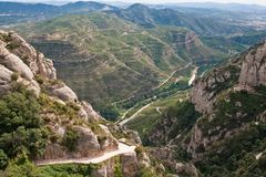 Montserrat, mountain, Spain Stock Image
