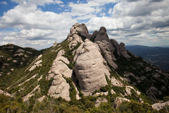Montserrat Mountain in Spain Royalty Free Stock Images