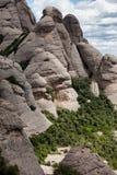 Montserrat Mountain in Spain Stock Photo