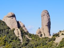 Montserrat Mountain, Spain Royalty Free Stock Photography