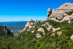 Montserrat  mountain, Spain Stock Photos