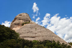 Montserrat Mountain in Spain Stock Image