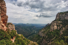 Montserrat. Mountain Montserrat, Spain, summer 2013 Stock Photography