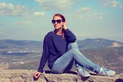 Montserrat mountain Stock Photography