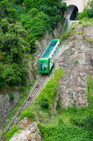 Montserrat mountain train Royalty Free Stock Photo