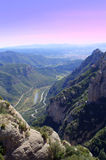 Montserrat mountain viewpoint,Spain Royalty Free Stock Photography