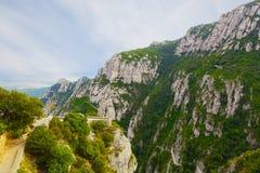 Montserrat mountain Stock Photos