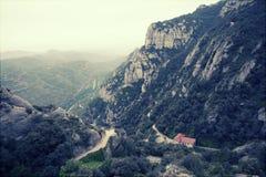 Montserrat mountains, Barcelona, Spain. Stock Photos