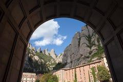 Montserrat Mountains en España fotos de archivo libres de regalías