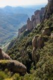 Montserrat Mountains nahe Barcelona, Spanien Lizenzfreie Stockbilder