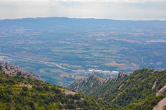 Montserrat mountains Stock Photography