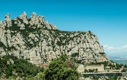 Montserrat opactwo zdjęcie royalty free