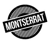 Montserrat rubber stamp. Grunge design with dust scratches. Effects can be easily removed for a clean, crisp look. Color is easily changed Royalty Free Stock Images