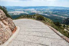 Montserrat in Spagna Immagine Stock Libera da Diritti