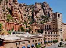 Montserrat, Spain. The monastery of Montserrat in Spain Royalty Free Stock Image