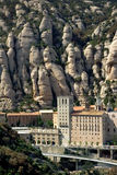 Montserrat in Spain royalty free stock photos