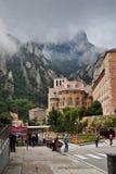 Montserrat, Spain. The monastery of Montserrat in Spain royalty free stock photography