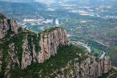 Montserrat in Spain Stock Image