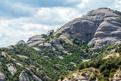 Montserrat in Spain Stock Photo
