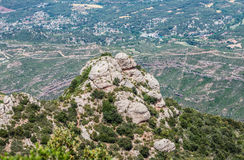 Montserrat in Spain Royalty Free Stock Image