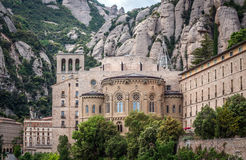 Montserrat in Spain Stock Photography