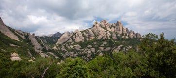 Montserrat, Spanien Stockbild