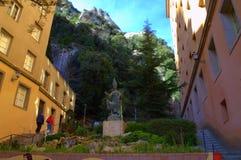 Montserrat Spanien Royaltyfri Fotografi
