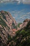 Montserrat, Spanje Stock Fotografie